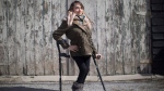 "A Toronto restaurant discriminated against a woman who uses mobility devices and ""publicly humiliated"" her by refusing to let her use its bathroom four years ago, the Human Rights Tribunal of Ontario has ruled. Haily Butler-Henderson is photographed near her Toronto home , Friday, March 17, 2017. THE CANADIAN PRESS/Chris Young"