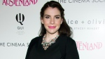 """FILE - Stephenie Meyer attends a screening of Sony PIctures Classics' """"Austenland"""" on Aug. 12, 2013 in New York. Meyer is planning at least two more books in her mega-selling vampire series """"Twilight Saga"""" she said during a recent promotional event. (Photo by Charles Sykes/Invision/AP, FIle)"""