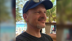 Dr. Walter Reynolds, 45, was killed Aug. 10, 2020, during an attack in his office at the Village Mall Walk-In Clinic in Red Deer, Alta. (Source: GoFundMe)