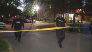 Toronto police are investigating a shooting in North York.