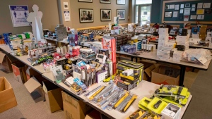 More than $250,000 worth of stolen property was recovered by York Regional Police. (Police handout)