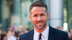 Ryan Reynolds poses on the red carpet during the 2015 Toronto International Film Festival in Toronto on Wednesday, September 16, 2015. Reynolds has responded to a plea from British Columbia Premier John Horgan for help with messaging to younger residents about partying during a pandemic. THE CANADIAN PRESS/Darren Calabrese