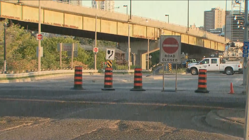 The Don Valley Parkway is shut down this weekend for annual maintenance.