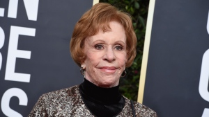 Carol Burnett arrives at the 77th annual Golden Globe Awards on Jan. 5, 2020, in Beverly Hills, Calif. (Photo by Jordan Strauss/Invision/AP, File)