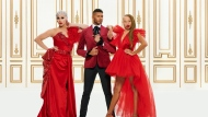 "Brooke Lynn Hytes (left to right), Jeffrey Bowyer-Chapman and Stacey McKenzie are shown in a handout photo from the show ""Canada's Drag Race."" Canadian streaming service Crave and contestants of ""Canada's Drag Race"" are speaking out against hateful messages some of the show's queens and judges have received from viewers on social media. THE CANADIAN PRESS/HO-Bell Media MANDATORY CREDIT"