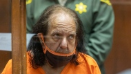 Adult film star Ron Jeremy appears for his arraignment on rape and sexual assault charges at Clara Shortridge Foltz Criminal Justice Center, on June 26, 2020, in Los Angeles. (David McNew/Pool Photo via AP, File)