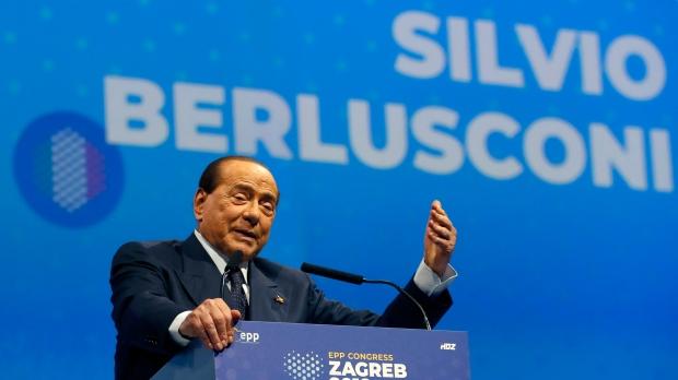 Former Italian PM Berlusconi hospitalized after testing positive for coronavirus