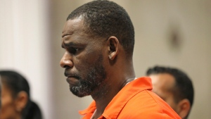 In this Sept. 17, 2019, file photo, R. Kelly appears during a hearing at the Leighton Criminal Courthouse in Chicago. (Antonio Perez/Chicago Tribune via AP, Pool, File)
