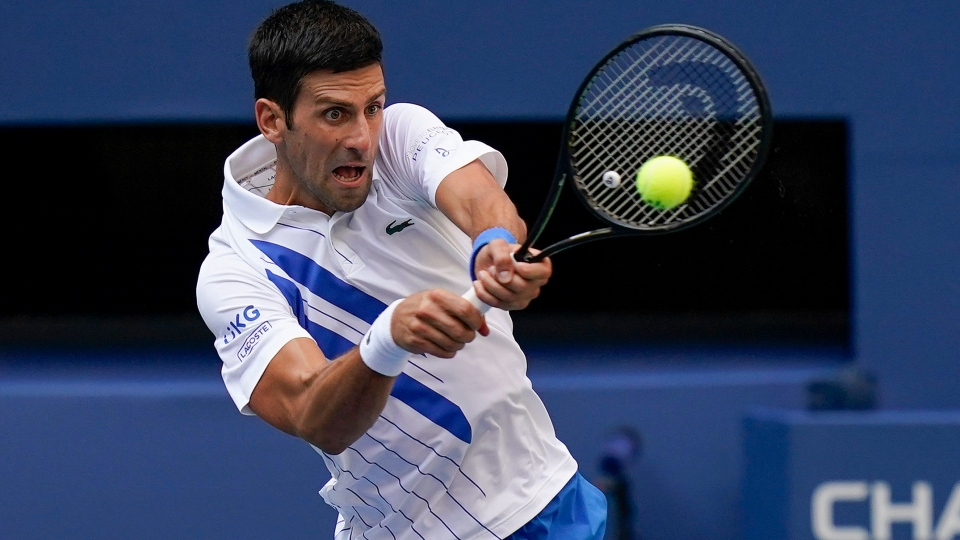 Djokovic Out Of Us Open After Hitting Line Judge With Ball Cp24 Com