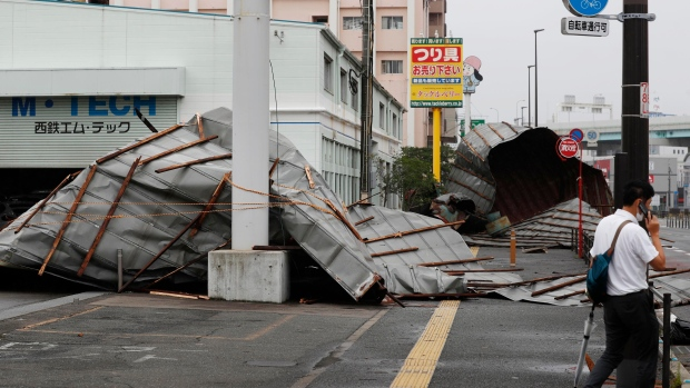 Typhoon Haishen lashes Korean Peninsula after battering Japan