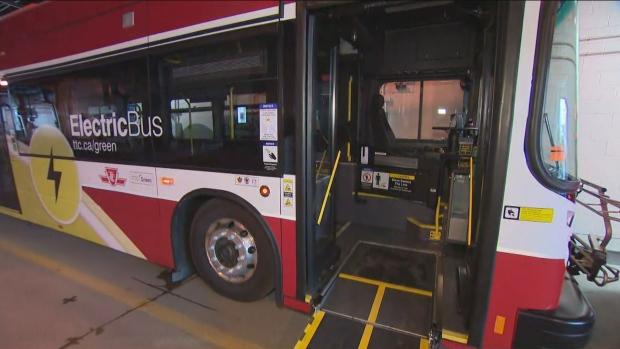 Electric bus TTC