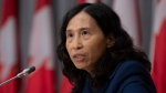 Chief Public Health Officer Theresa Tam speaks during a news conference Tuesday, September 8, 2020 in Ottawa. THE CANADIAN PRESS/Adrian Wyld