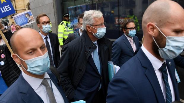UK's Johnson accuses European Union  of threatening food blockade