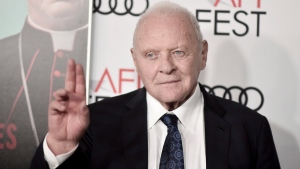 "Anthony Hopkins attends 2019 AFI Fest - ""The Two Popes,"" at the TCL Chinese Theatre, Monday, Nov. 18, 2019, in Los Angeles. Hopkins is faring pretty well, all things considered. From the comfort of his L.A. home, Hopkins says life under lockdown is healthier than ever. THE CANADIAN PRESS/AP/Photo by Richard Shotwell/Invision/AP"