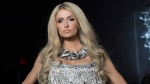 Paris Hilton walks the runway in The Blonds collection presentation during New York Fashion Week, Tuesday, Feb. 12, 2019. (AP Photo/Mary Altaffer)