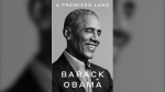 "This photo provided by Random House shows the cover of ""A Promised Land."" The first volume of former President Barack Obama's memoir is coming out Nov. 17, two weeks after Election Day. (Pari Dukovic/Random House via AP)"
