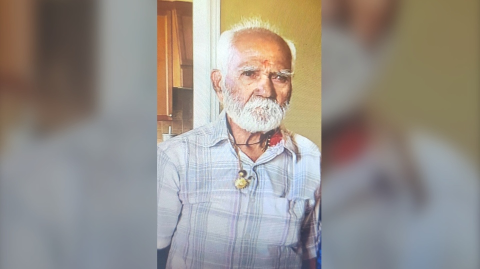 Chandulal Gandhi, 83, is seen in this undated photo provided by police. (Toronto Police Handout)