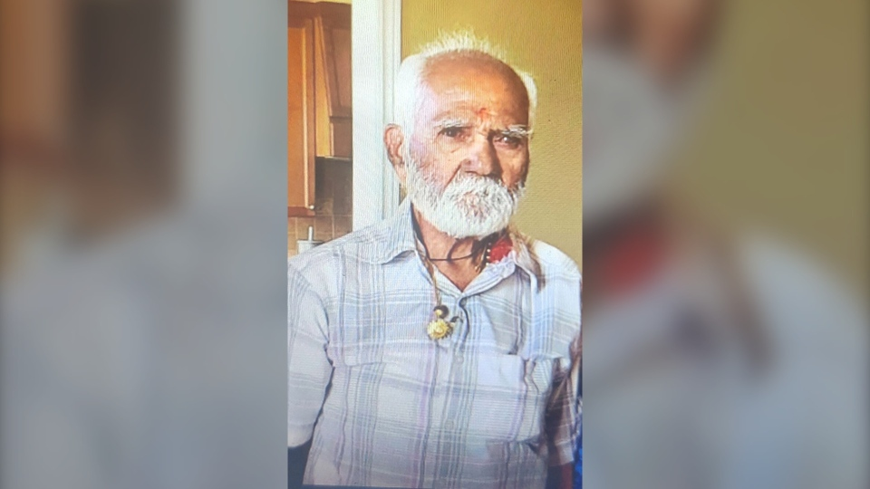 Chandulal Gandhi, 83, is seen in this photo. (Toronto Police Service)