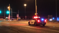 A motorcyclist is dead following a collision near Highway 401 in Scarborough on Thursday evening, Toronto Police say.