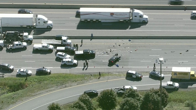 401 Crash in Durham