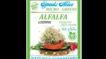 The label found on recalled Alfalfa sprouts is shown in a CFIA handout image.