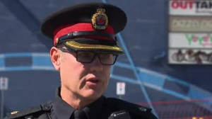 HPS Supt. Will Mason says several hundred people gathered at a movie theatre parking lot in Ancaster, prompting police to disperse them.