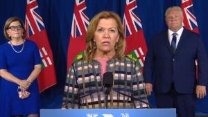 Ont. Health Minister Christine Elliot