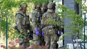 Suspect raid