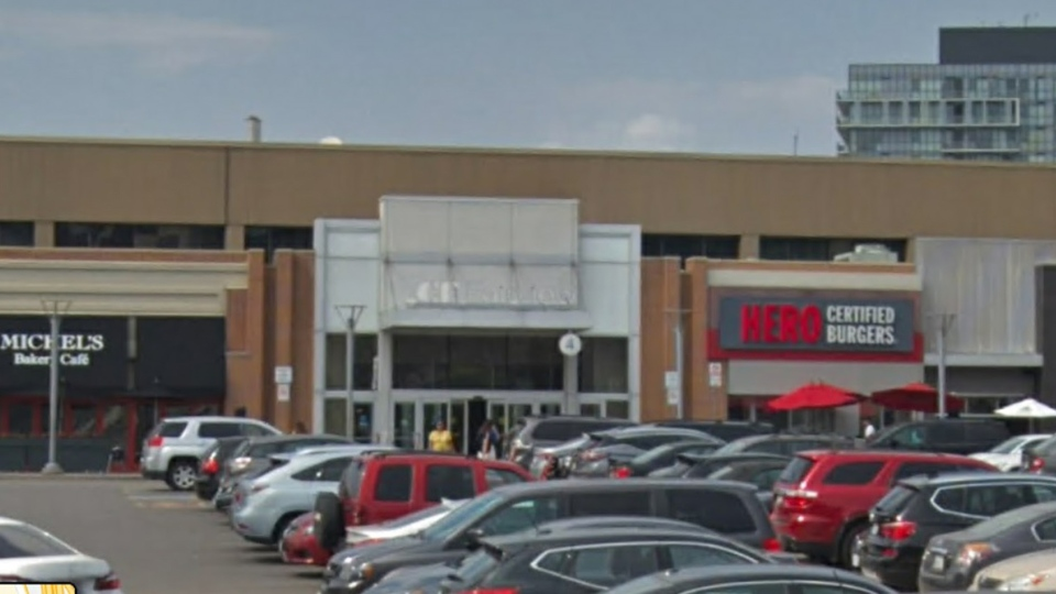 An entrance to Fairview Mall is seen in a Google Streetview image.