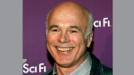 """Battlestar Galactica"" cast member Michael Hogan arrives to the Sci Fi Channel's 2008 Upfront party in New York, Tuesday, March 18, 2008. THE CANADIAN PRESS/AP /Stuart Ramson"