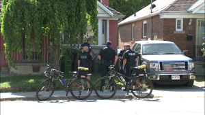 Toronto police responded to reports of a stabbing near Vaughan Road and Northcliffe Boulevard on Wednesday afternoon.