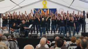 A photo of The River Troupe Gospel group from their Facebook page on June 22.
