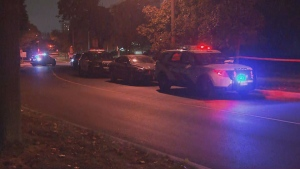 Toronto police are investigating a fatal shooting on Shoreham Drive, west of Jane Street.