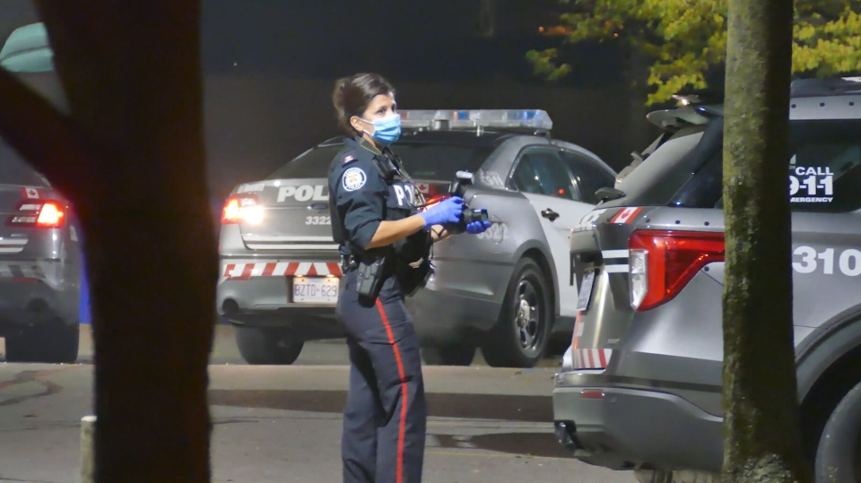Toronto police are investigating an overnight stabbing in North York that sent one man to hospital.