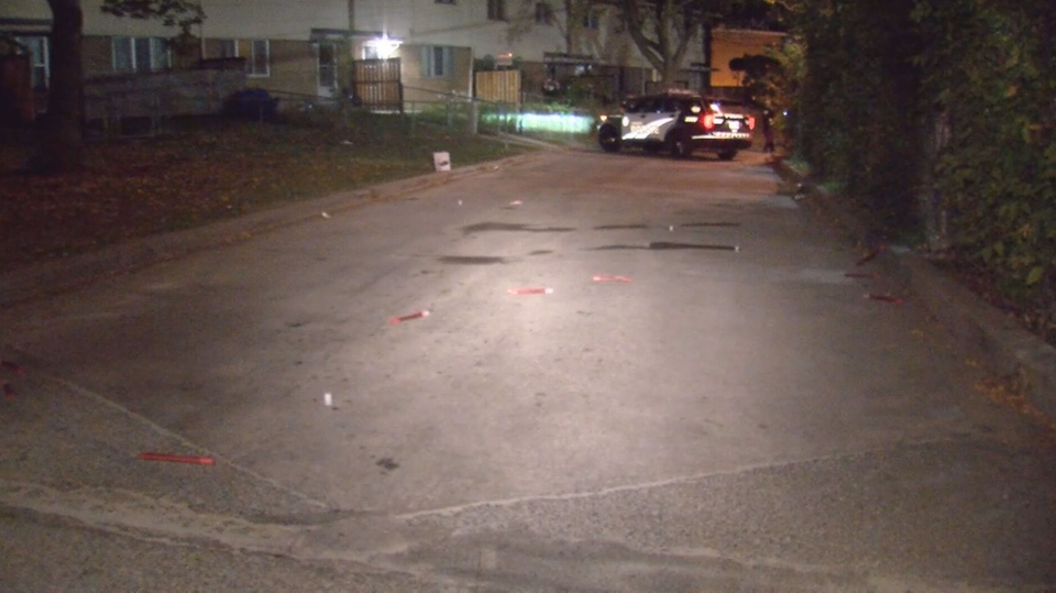 Toronto police are investigating reports of a drive by shooting at Flemington Road and Amaranth Court on Saturday night.
