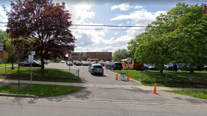 Mason Road Junior Public School is seen in this screengrab from Google StreetView.