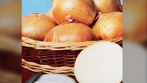 "Facebook has reversed its decision to prevent a seed company in Newfoundland from using a photo of a pile of onions, shown in a handout photo, which the social media giant had deemed ""overtly sexual."" THE CANADIAN PRESS/HO-Gaze Seed Co."