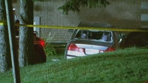Police are investigating a fatal shooting in the city's Lawrence Manor neighbourhood.
