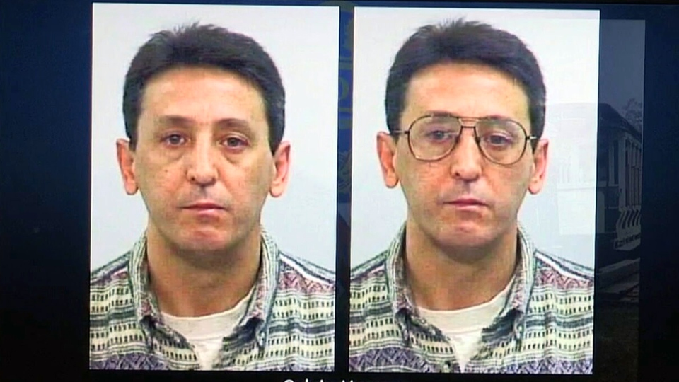Calvin Hoover, believed to be responsible for the death of 9-year-old Christine Jessop in 1984, is shown in an image taken in 1996.