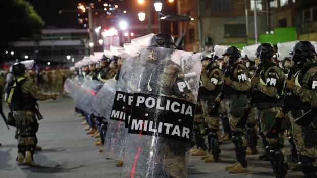Bolivia election tension