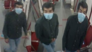 Police are searching for a suspect after a woman was sexually assaulted while on board a TTC subway train. (Toronto Police)