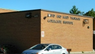 The exterior of David & Mary Thomson CI is seen in a Google Streetview image.