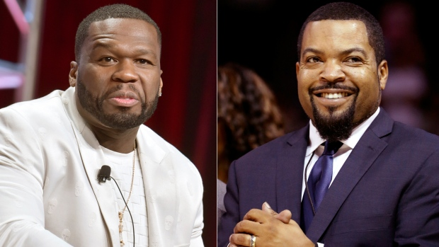 50 Cent and Ice Cube