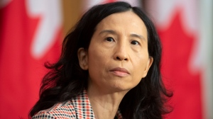Canada's Chief Public Health Officer Theresa Tam is seen during a news conference Tuesday October 20, 2020 in Ottawa. THE CANADIAN PRESS/Adrian Wyld