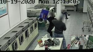laundromat fight