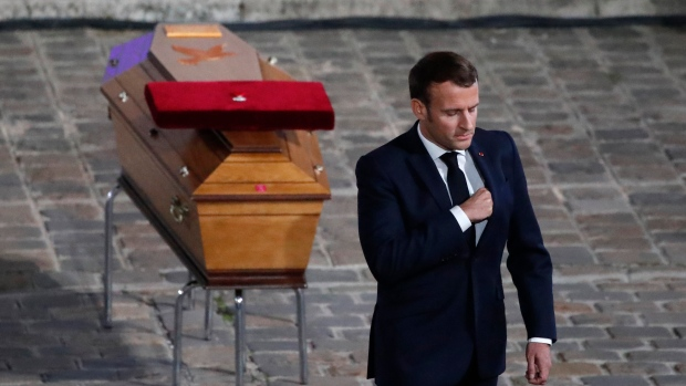 France Holds National Tribute to Beheaded Teacher at Sorbonne University