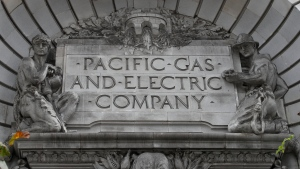 Pacific Gas & Electric sign