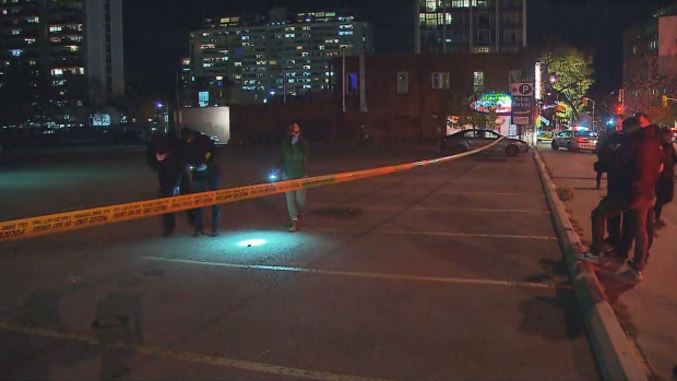 Toronto police are investigating a shooting near Yonge Street and Davisville Avenue.