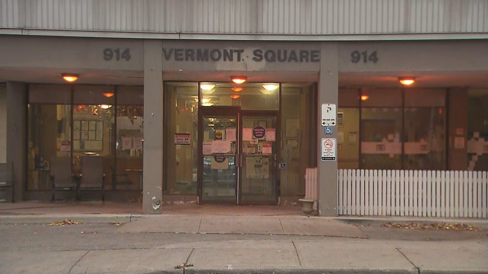 Vermont Square long-term care home is seen in this undated photo.
