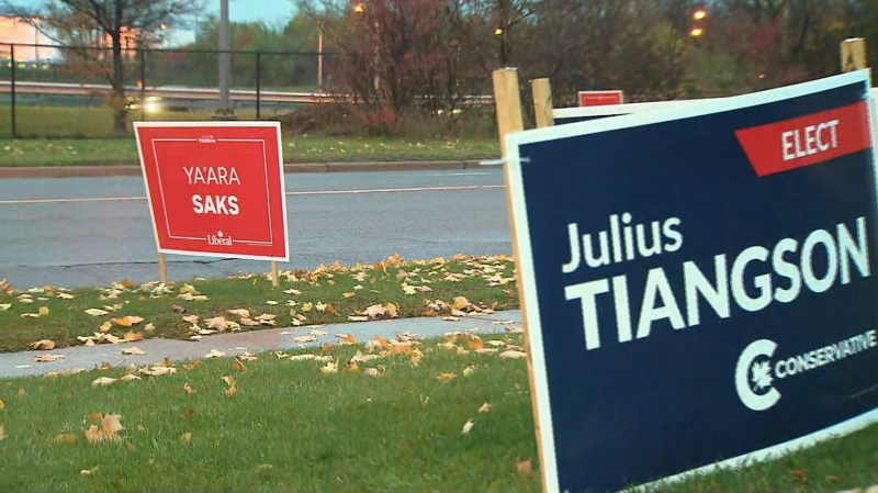 Voters are heading to the polls today in Toronto Centre and York Centre.
